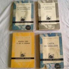 Libros de segunda mano: LOTE DE LIBROS ANTIGUOS DE COLECCIÓN AUSTRAL. Lote 51446171