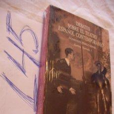 Libros de segunda mano: DEBATES SOBRE EL TEATRO ESPAÑOL CONTEMPORANEO - DOMINGO PEREZ MINIK - NUEVO PRECINTADO. Lote 180909890