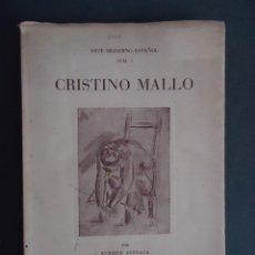 Libros de segunda mano: GALICIA.ESCULTURA.'CRISTINO MALLO' ENRIQUE AZCOAGA. ARTE MODERNO ESPAÑOL Nº 3. 1947. Lote 44348711