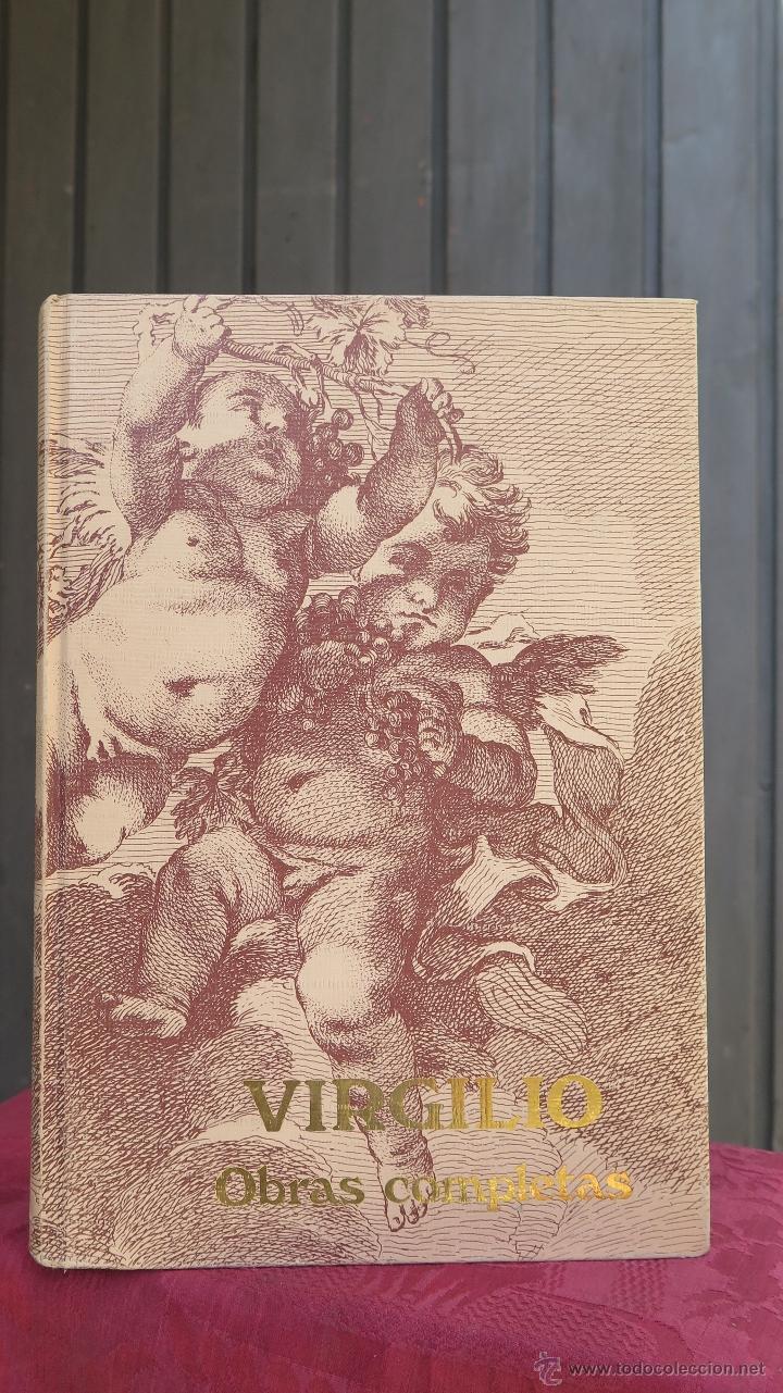 VIRGILIO. OBRAS COMPLETAS. MONTANER Y SIMON (Libros de Segunda Mano (posteriores a 1936) - Literatura - Otros)
