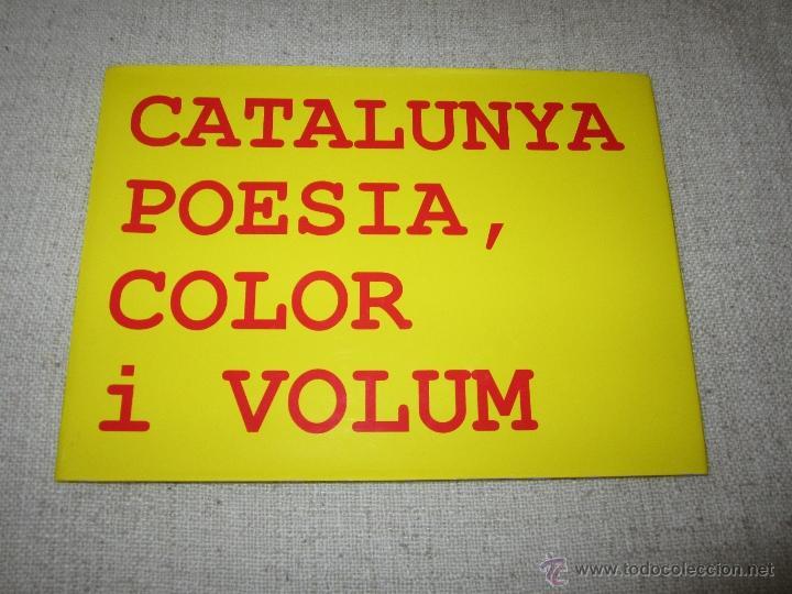 CATALUNYA POESIA,COLOR I VOLUM. 2007,CRISOLART GALLERIES.TEMA ARTE (Libros de Segunda Mano - Bellas artes, ocio y coleccionismo - Otros)