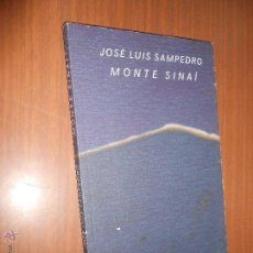 Libros de segunda mano: JOSE LUIS SAMPEDRO MONTE SINAI BARCELONA 1998. Lote 44446892