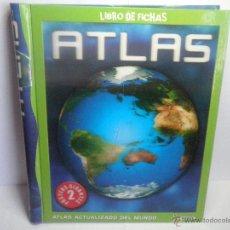 Libros de segunda mano: LIBRO DE FICHAS ATLAS ACTUALIZADO DE MUNDO DE SUSAETA . Lote 52181969
