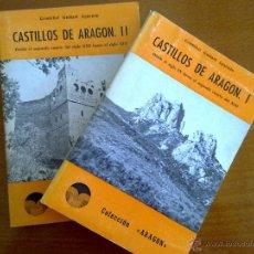 Libros de segunda mano: CASTILLOS DE ARAGÓN, CRISTÓBAL GUITART APARICIO. Lote 44504799