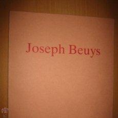 Libros de segunda mano: JOSEPH BEUYS - GALERÍA ALFONSO ALCOLEA 1989 ARTE CONTEMPORÁNEO. FLUXUS. Lote 44627273
