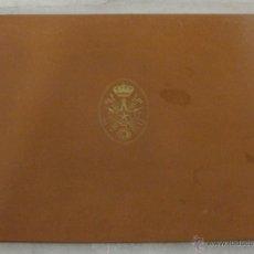 Libros de segunda mano: LIBRO HOMENAJE DE ADHESIÓN A FRANCO. 1946. GRANDES DIMENSIONES (50,5 CM X 40 CM). Lote 44689270