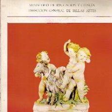Libros de segunda mano: MUSEO ARQUEOLÓGICO NACIONAL: NUEVAS INSTALACIONES DE ARTES SUNTUARIAS SIGLOS XVII, XVIII Y XIX 1972. Lote 44714368