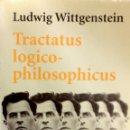 Libros de segunda mano: TRACTATUS LOGICO-PHILOSOPHICUS - WITTGENSTEIN, LUDWIG. Lote 106999939