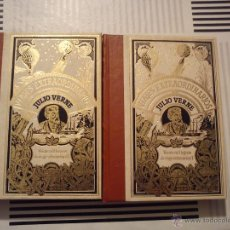 Libros de segunda mano: VIAJES EXTRAORDINARIOS DE JULIO VERNE VEINTE MIL LEGUAS DE VIAJE I Y II. Lote 44765734