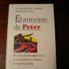 Libros de segunda mano: EL PRINCIPIO DE PETER. Lote 44793703