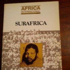 Libros de segunda mano: AFRICA INTERNACIONAL - SURAFRICA. Lote 44814407
