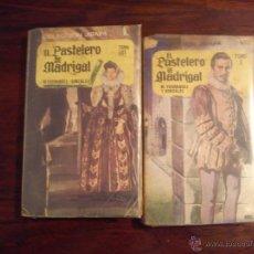 Libros de segunda mano: EL PASTELERO DEL MADRIGAL- TOMO I Y II - COLECCIÓN JIRAFA . Lote 44826480