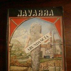 Libros de segunda mano: NAVARRA, ABUNDANCIA, MARIO GAVIRIA Y EQUIPO, HORGAGO, 1978. Lote 44847948
