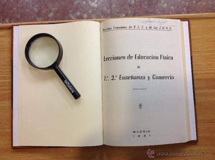 Libros de segunda mano: Lecciones de educación física de 1 2 de enseñanza y comercio - Foto 2 - 44852183