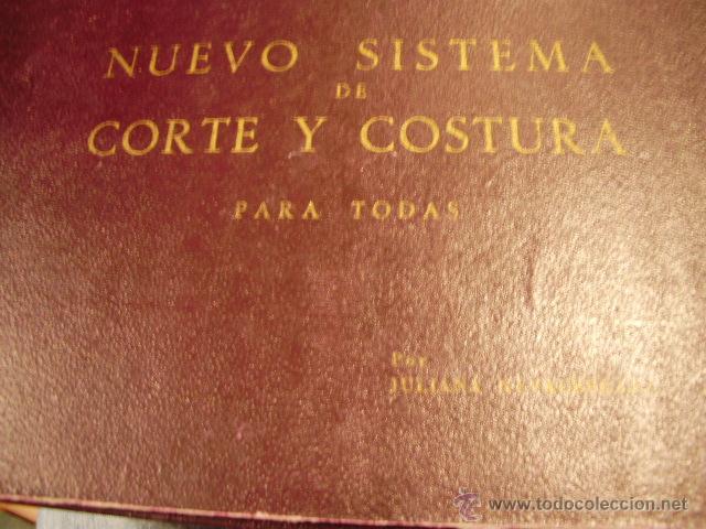 NUEVO SISTEMA DE CORTE Y COSTURA (MADRID, 1954) (Libros de Segunda Mano - Ciencias, Manuales y Oficios - Otros)