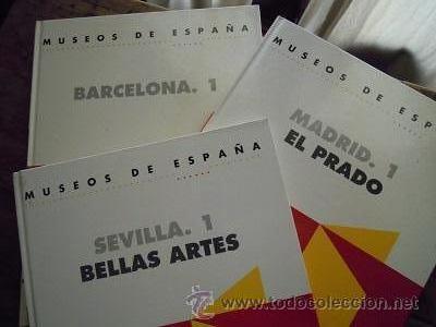 MUSEOS DE ESPAÑA. SEVILLA. 1. BELLAS ARTES. BARCELONA.1 Y MADRID.1. EL PRADO. EDICIONES F&G. 1993 (Libros de Segunda Mano - Bellas artes, ocio y coleccionismo - Otros)