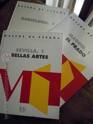 Libros de segunda mano: Museos de España. Sevilla. 1. Bellas Artes. Barcelona.1 y Madrid.1. El Prado. Ediciones F&G. 1993 - Foto 2 - 44872882