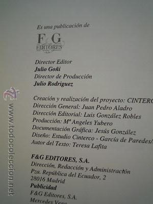 Libros de segunda mano: Museos de España. Sevilla. 1. Bellas Artes. Barcelona.1 y Madrid.1. El Prado. Ediciones F&G. 1993 - Foto 8 - 44872882