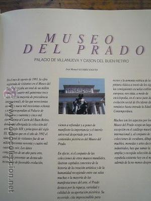 Libros de segunda mano: Museos de España. Sevilla. 1. Bellas Artes. Barcelona.1 y Madrid.1. El Prado. Ediciones F&G. 1993 - Foto 14 - 44872882