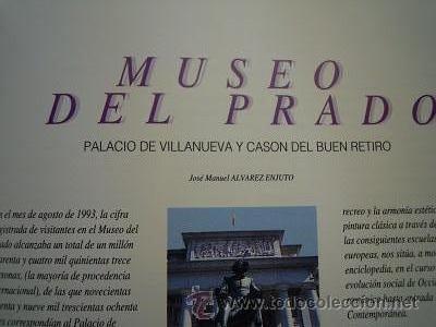 Libros de segunda mano: Museos de España. Sevilla. 1. Bellas Artes. Barcelona.1 y Madrid.1. El Prado. Ediciones F&G. 1993 - Foto 18 - 44872882