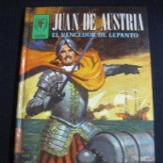 Livros em segunda mão: JUAN DE AUSTRIA. EL VENCEDOR DE LEPANTO. EDICIONES TORAY 1980.. Lote 44905670