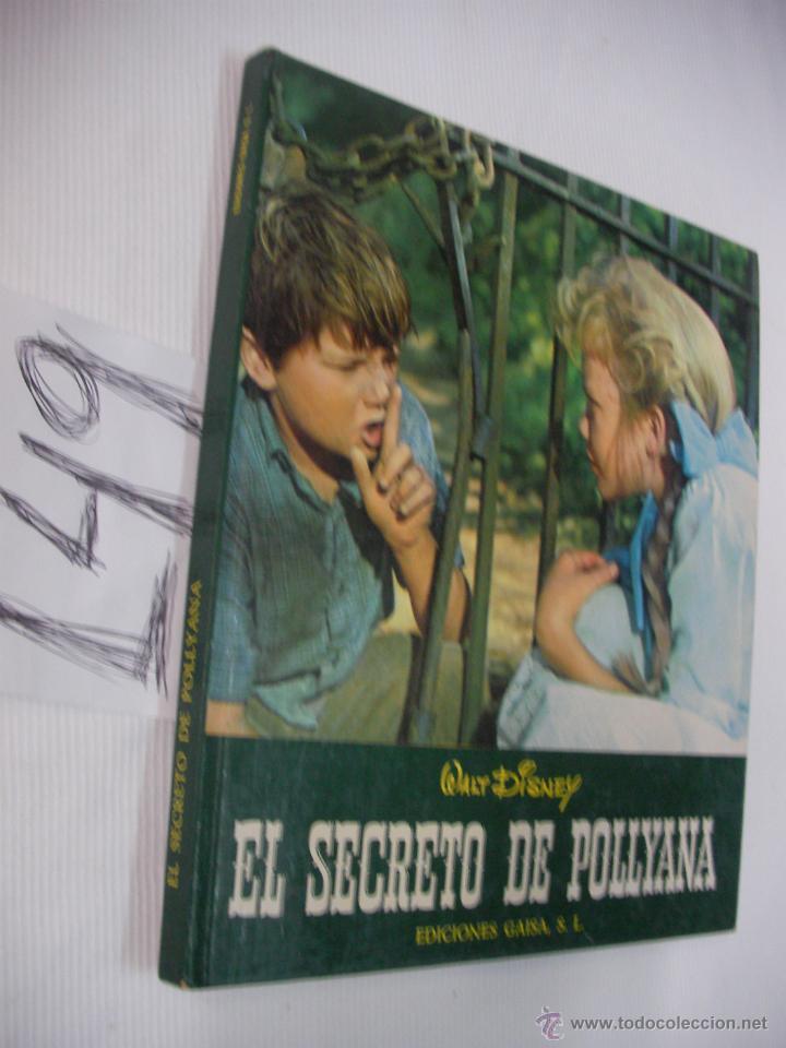 ANTIGUO LIBRO - PELICULA EL SECRETO POLLYANA (Libros de Segunda Mano - Literatura Infantil y Juvenil - Otros)