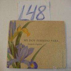 Libros de segunda mano: ME DOY PERMISO PARA.....- JOAQUIN ARGENTE - ENVIO GRATIS A ESPAÑA. Lote 173647268