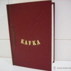 Libros de segunda mano: OBRAS INMORTALES KAFKA. Lote 44919262