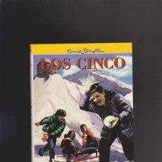 Libros de segunda mano: ENID BLYTON - LOS CINCO EN PELIGRO - EDITORIAL JUVENTUD 1999 / ILUSTRADO. Lote 44954256