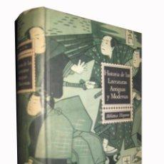 Libros de segunda mano: HISTORIA DE LAS LITERATURAS ANTIGUAS Y MODERNAS. PERES RAMON D.. RAMÓN SOPENA. BARCELONA. 1960. Lote 3505834