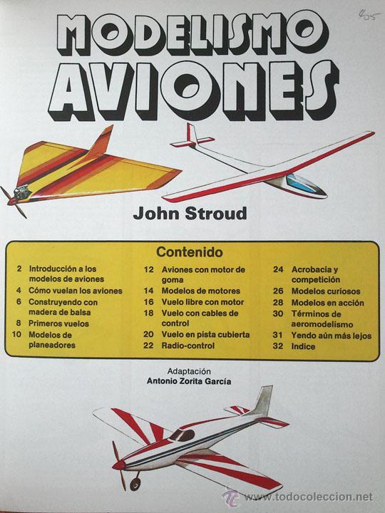 Libros de segunda mano: MODELISMO - AVIONES - ED. PLESA - SM - 1983 - Foto 2 - 181545127