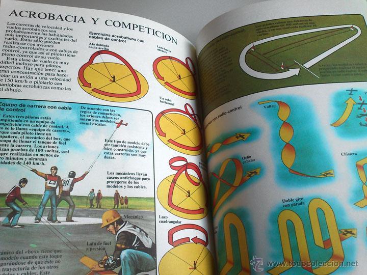 Libros de segunda mano: MODELISMO - AVIONES - ED. PLESA - SM - 1983 - Foto 4 - 181545127
