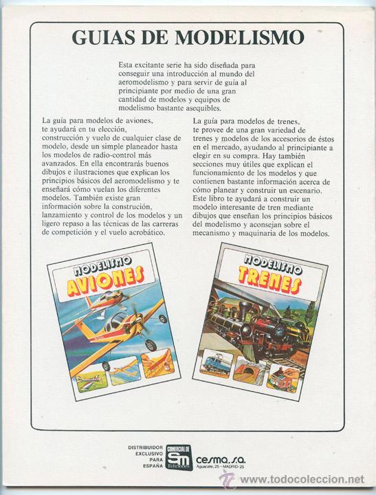 Libros de segunda mano: MODELISMO - AVIONES - ED. PLESA - SM - 1983 - Foto 5 - 181545127