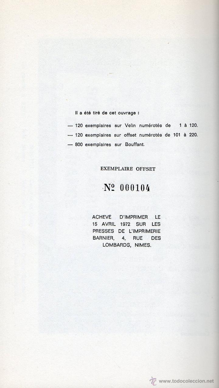 Libros de segunda mano: LES FANATIQUES DU TORO.PIERRE DUPUY. ILUSTRATIONS JOEL BAMEULE. EN MUY BUEN ESTADO. - Foto 6 - 44992418