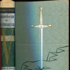 Libros de segunda mano: EL DESEMBARCO DE NORMANDIA -GEORGES BLOND. Lote 45214958