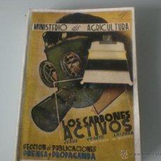 Libros de segunda mano: LIBRO LOS CARBONES ACTIVOS- J. UGARTE LAISECA-AÑO 1942- MINISTERIO DE CULTURA. Lote 45233589