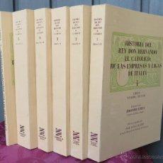 Libros de segunda mano: HISTORIA DEL REY DON HERNANDO EL CATOLICO. JERONIMO DE ZURITA. 6 TOMOS. COMPLETA . Lote 45240590
