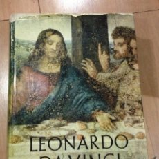 Libros de segunda mano: LEONARDO DA VINCI. INSTITUTO GEOGRAFICO DE AGOSTINI, NOVARA. 1956. Lote 45259229