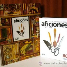Libros de segunda mano: MANUAL PRÁCTICO DE LAS AFICIONES EN CASA (LIBRO Y CARPETA DE FICHAS) EL PAÍS AGUILAR EN MADRID 1999. Lote 54996904