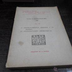 Libros de segunda mano: ANUARIO EUSKO FOLKLORE, 1928, TOMO VIII, I. ESTABLECIMIENTOS HUMANOS II. INVESTIGACIONES PREHISTORIC. Lote 45269442