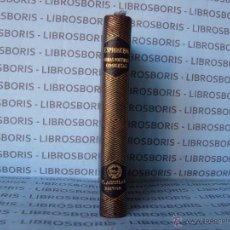 Libros de segunda mano: ESPRONCEDA - OBRAS POETICAS COMPLETAS - AGUILAR - COL. JOYA.. Lote 92063469