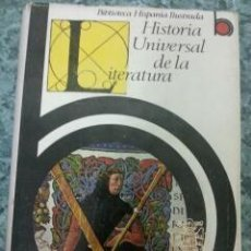 Gebrauchte Bücher - HISTORIA UNIVERSAL DE LA LITERATURA. Ramon D. Peres, 1969 - 45287282