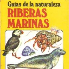 Libros de segunda mano: GUÍAS DE LA NATURALEZA - RIBERAS MARINAS - EDITORIAL JUVENTUD 1987. Lote 45299953