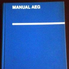 Libros de segunda mano: LIBRO MANUAL AEG AÑO 1967. Lote 45318339