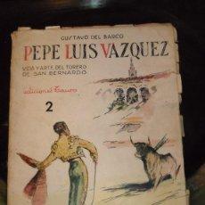 Libros de segunda mano: PEPE LUIS VAZQUEZ, VIDA Y ARTE . Lote 45324740