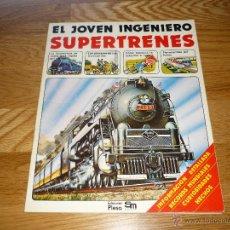 Libros de segunda mano: EL JOVEN INGENIERO - SUPERTRENES (PLESA, 1979) PERFECTO. Lote 45377514