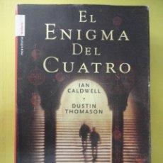 Libros de segunda mano: EL ENIGMA DEL CUATRO. TAPA DURA. Lote 45419512