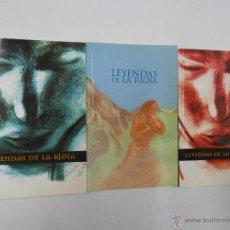 Libros de segunda mano: LEYENDAS DE LA RIOJA. 3 TOMOS. COMPLETO. CARIÑANOS, FÉLIX / ESQUIDE, DIEGO. ALBELDA, JAIME. TDK205. Lote 45427138