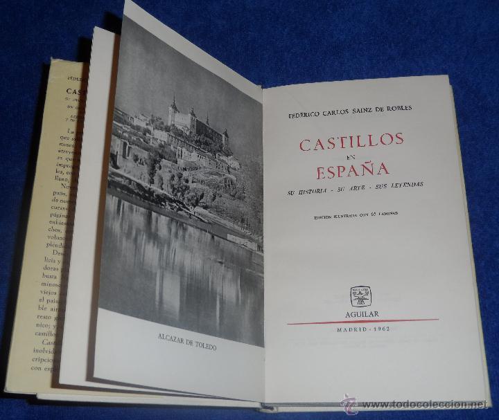 Libros de segunda mano: CASTILLOS EN ESPAÑA : SU HISTORIA, SU ARTE, SUS LEYENDAS - AGUILAR (1962) - Foto 2 - 45428978