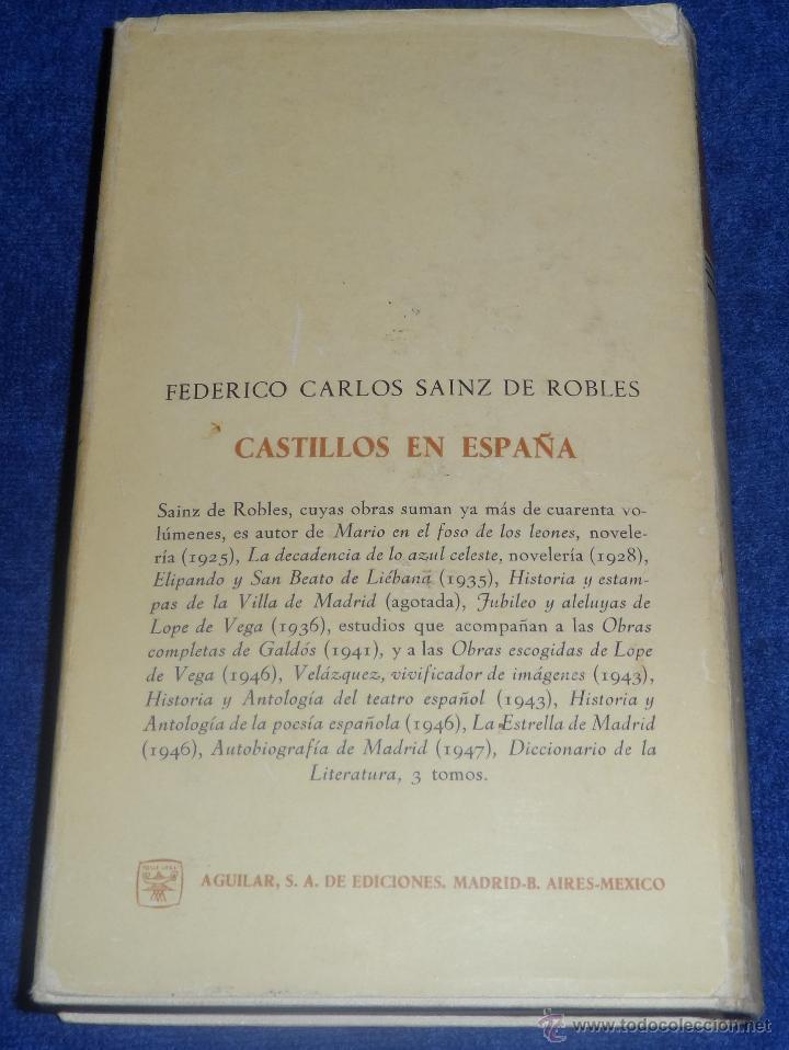 Libros de segunda mano: CASTILLOS EN ESPAÑA : SU HISTORIA, SU ARTE, SUS LEYENDAS - AGUILAR (1962) - Foto 5 - 45428978